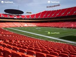 Printable Arrowhead Stadium Seating Chart Your Ticket To Sports Concerts More Seatgeek