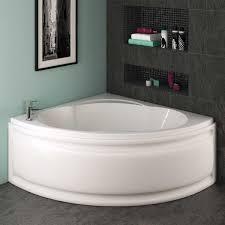 ... Trojan Laguna 8 Jet Whirlpool Corner Bath 1200 x 1200 with Bath Waste  ...