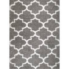 rug and decor inc supreme royal trellis grey white area pertaining to rugs idea 4