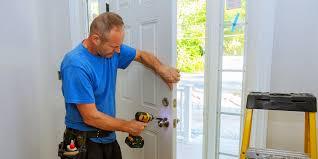 installing front door9 Ways To Improve Your Front Door Security