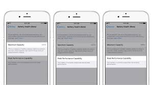 Battery capacity can be viewed on any iphone introduced since 2014 or later, starting with iphone 6. How To Check If Battery Health Is Slowing Your Iphone Down Ndtv Gadgets 360