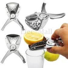metal citrus reamer. stainless fruit lemon lime orange citrus squeezer juicer manual hand press tool metal reamer r