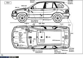 fuse box speakers e53 wiring diagram bmw repair manual bmw x e bentley publishers no beep on rear sensor bmw