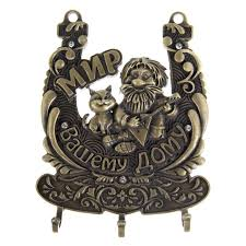 Cat Coat Rack Creative Home furniture metal clothes key hooks antique hanging 20