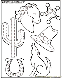 Small Picture Cowboy Coloring Pages Wjbw Cowboy3 nebulosabarcom