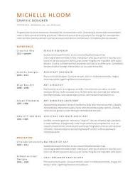 Simple Resume Templates Word Enchanting Broad Appeal Free Resume Template By Hloom A Current