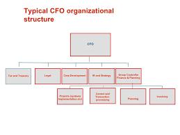 Corporate Finance Organizational Chart Modern Finance Organisation