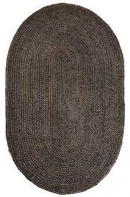 rug 6 x 9 oval kerala dark gray