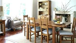 light oak dining table and chairs room furniture new with upholstered s
