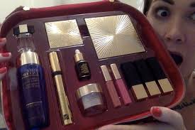 unboxing estee lauder colour edit myer promotion