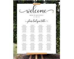 Wedding Seating Chart Easel Table Top Easel Rustic Wood Etsy
