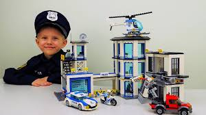 <b>Полицейский</b> участок Лего Сити 60141 и арест Лего Бандитов ...