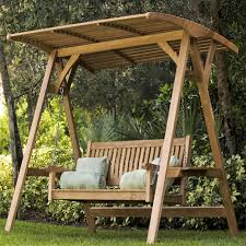 outside swing bench.  Outside The Veranda Teak Swinging Bench  With Outside Swing U