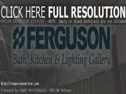 ferguson bath kitchen and lighting gallery is so famous but why