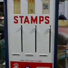Stamp Vending Machines Mesmerizing Stamp Vending Machine Collectors Weekly