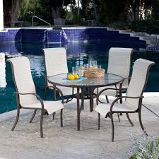 circular wicker patio furniture inspirational elegant round outdoor dining table set
