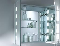 Mirror Design Ideas Inside Illuminated Bathroom Cabinets Mirrors