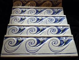 Decorative Relief Tiles Decorative handmade ceramic tile Decorative relief carved ceramic 60