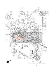 suzuki gs500 e f 2006 spare parts msp carburetor