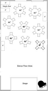 plan wedding reception choosing a floor plan for your wedding reception