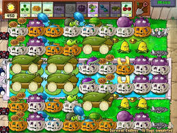 plants vs zombies wallpaper led survival endless
