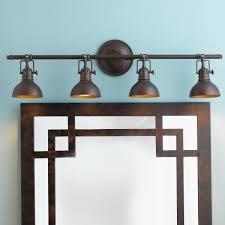 image of elegant bronze bathroom light fixtures