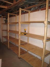 diy wood storage shelves