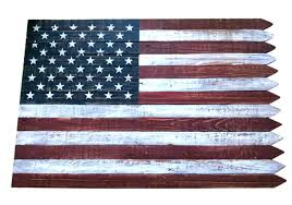 extra large american flag metal wall art