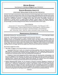 Business Analyst Resume Australia Sample Senior Business Analyst