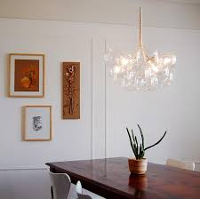 creative of small modern chandeliers solaria bubble glass chandelier chandeliers
