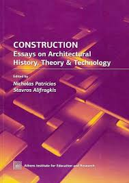 front cover of construction essays on architectural history fig 27 front cover of construction essays on architectural history theory