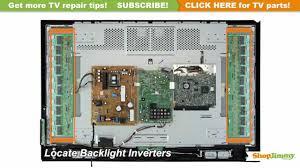 tv turns on backlight inverter immediately turns off tv repair tv turns on backlight inverter immediately turns off tv repair