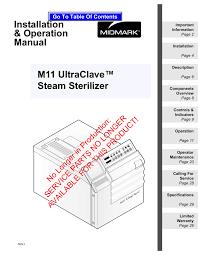 Midmark M11 Specifications Manualzz Com