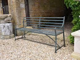 wrought iron garden furniture. A Wrought Iron Garden Bench Furniture E