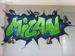 Graffiti Kinderkamer Muurschildering Tienerkamer Seventh In 2019