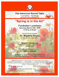 spring is in the air fundraiser luncheon is coming