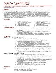 Sales Marketing Cv Marketing Manager Cv Template Cv Samples Examples Sample Resume