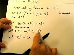form a polynomial whose real zeros and degree are given how to construct a polynomial function given its zeros youtube