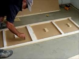 diy sliding door wardrobe make a pair of flush wardrobe doors