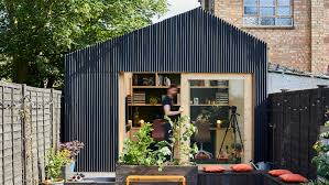 How To Design And Build A Shed The Light Shed Is A Garden Studio For Richard John Andrews