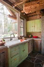 Cabin kitchen design Natural Hickory Cupboard Dark Oak Floor 25 Best Rustic Cabin Kitchens Ideas On Pinterest Rustic Cabin Throughout Log Cabin Kitchen Ideas Home And Kitchen 25 Best Rustic Cabin Kitchens Ideas On Pinterest Rustic Cabin