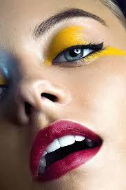 full image for lighting setup for makeup photography best yellow eye