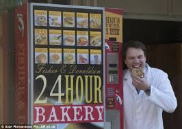 Pie Vending Machine Fascinating Pie Of The Storm Family Bakery Causes Row In Quaint Seaside Town By