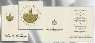 commencement invitations smith college graduation announcements smith college