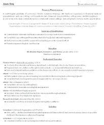 Resume Templates For Recent College Graduates Recent College ...