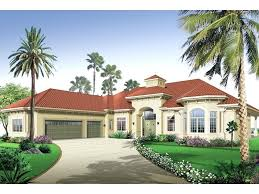 stucco siding adorns this stunning style home florida luxury mediterranean house plans