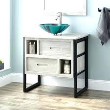 30 inch vessel sink vanity bathroom vanities teak vessel sink console vanity light gray bathroom teak