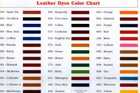 Waproo Colour Chart Angelus Shoe Polish Angelus Leather Paint Angelus Shoe Paint