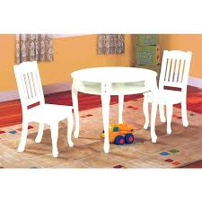 kids table and chair set with storage white kids table and chair set white round with
