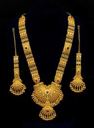 Latest Gold Sets Designs In India Indian Gold Necklace With Earring Vaibhav Abhushan
